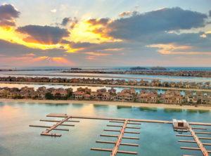 Palm Jumeirah Marina wide