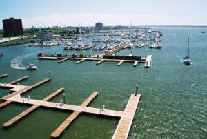 BIG grant, marina grant funding, boating infrastructure grant, marina utilities design, floating docks, wave attenuator