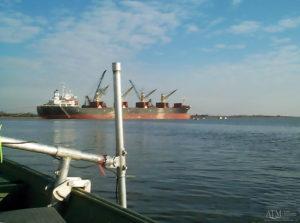 Charleston Naval Base Terminal ship