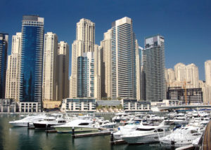 Dubai marina Yacht Club extended