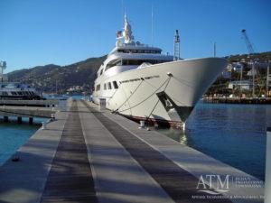 Marina, Fixed piers, fixed docks, superyacht marina, superyacht dock, superyacht pier