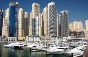 Dubai marina, international marina design, international marina planning, marina consultant, resort marina