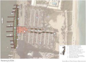 Miami Blueways Master Plan renderings aerial
