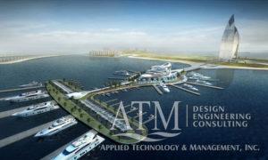 Palm Jumeirah Marina megayacht