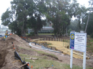 Cypress Wetlands and Drainage Improvements project