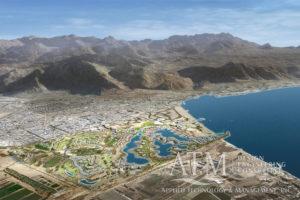 Ayla Resort Marina Aerial