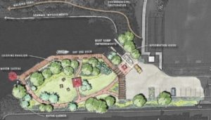 Hollywood Waterways Master Plan Rendering
