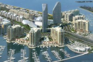 Palm Jumeriah marina consulting, marina design and engineering