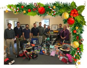 ATM participating in Salvation Army Angel tree