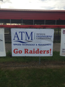 Applied Technology & Management supports the Santa Fe Raiders team in Gainesville, FL